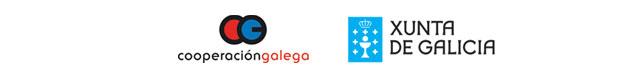 Logos Cooperación galega y Xunta de Galicia
