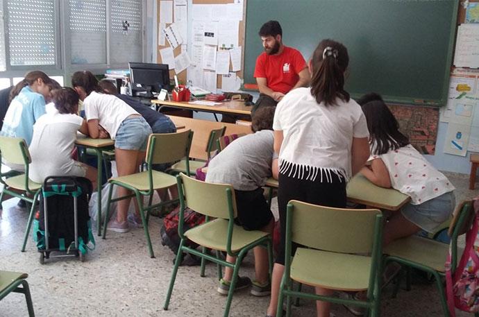Sobre o noso traballo nas aulas
